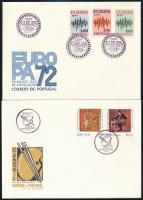 Europa CEPT 1972-1982 3 FDC, Europa CEPT 1972-1982 3 klf FDC