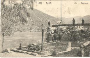Ada Kaleh, Vár, katonák / Festung / castle, soldiers (EK)