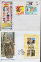 1996-1997 4 diff FDC, 1996-1997 4 klf FDC