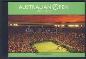 2005 Ausztrál nyílt teniszbajnokság bélyegfüzet Mi 195