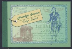 2007 Idegenforgalom a 30-as években, régi plakátok bélyegfüzet Mi 282