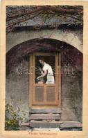 1913 Lőcse, Leutscha, Levoca; A Lőcsei fehér asszony / Weisse Frau