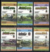 Locomotives I 6 pairs, Mozdonyok I 6 pár, Lokomotiven I 6 Paare