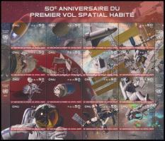 2011 Űrhajózás teljesív Mi 751-766