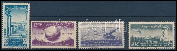 1949 UPU sor Mi 578-581 A