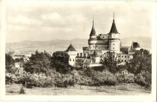 Bajmóc, Bojnice; Gróf Pálffy várkastély / Bojnicky Zámok / castle (EB)