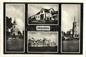Alsómihályi, Michalany; templomok, vasútállomás / churches, railway station (Rb)