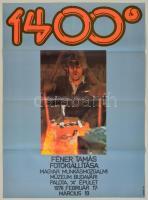 Kemény György (1936 - ): 1400°. Féner Tamás fotókiállítása. Bp., Magyar Fotóművészek Szövetsége-Magyar Munkásmozgalmi Múzeum, 58x83 cm.