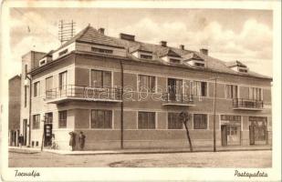 Tornalja, Tornala; Posta palota, Remenyik üzlete. Blumenthal Sándor kiadása / post palace, shop