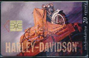 1996 Harley Davidson használatlan telefonkártya, bontatlan csomagolásban, Sorszámozott. Csak 2500 db!
