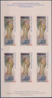 Mucha bélyegfüzet, Mucha stamp-booklet