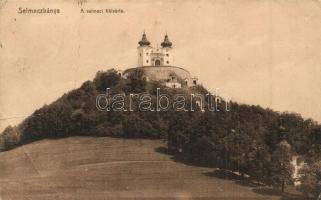 Selmecbánya, Schemnitz, Banská Stiavnica; Kálvária. Joerges kiadása 1913. / calvary (EB)