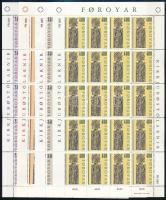1984 Templom kisívsor Mi 93-96