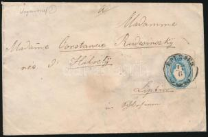 ~1862 15kr on cover