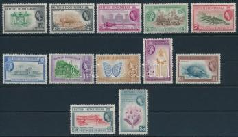 British Honduras Definitive set, Brit-Honduras Forgalmi sor