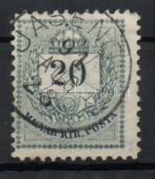 1881 20kr JASENOVAC