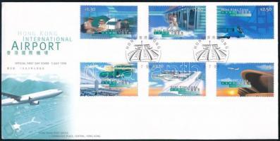 National Airport set FDC, Nemzetközi repülőtér sor FDC-n