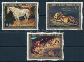 Eugene Delacroix paintings set, Eugene Delacroix festmények sor