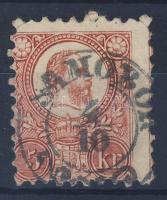 1871 Réznyomat 5kr / Mi 10 SAMOBOR