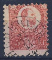 1871 Réznyomat 5kr / Mi. 10 HÉDERVÁR