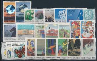 7 sets + 5 stamps, 7 klf sor + 5 klf önálló érték