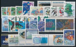 8 sets + 8 stamps, 8 klf sor + 6 klf önálló érték