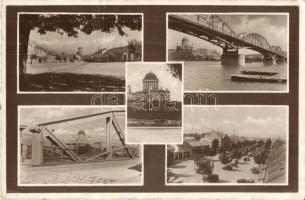 Stúrovó, bridge, street, church, Párkány, Híd, utcakép, esztergomi bazilika