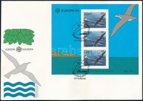 Europa CEPT Nature and Environmental Protection block FDC, Europa CEPT Természet- és környezetvédelem blokk FDC-n
