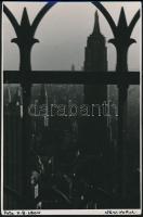 cca 1930-1940 H.B. Leon: New York, feliratozott fotó, 12x19 cm / cca 1930-1940 H.B. Leon: New York, 19x12 cm
