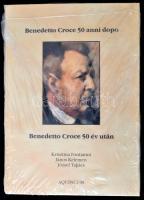 Fontanini Krisztina - Kelemen János - Takács József: Benedetto Croce 50 év után. Bp., 2004, Aquincum. Kiadói kartonált kötés, fóliázott, újszerű állapotban.
