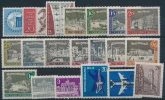 1959-1964 1 set + 7 stamps, 1959-1964 1 sor + 7 klf önálló érték