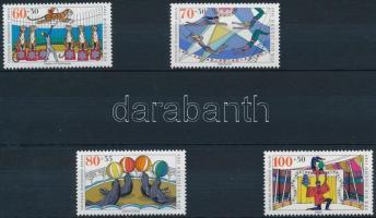 1989 Cirkusz sor Mi 838-841