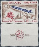 1964 Bélyegkiállítás bélyeg szelvénnyel Mi 1480