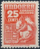 Definitive: Squirrel stamp, Forgalmi: mókus bélyeg