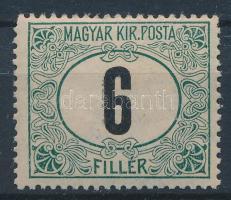 1905 Portó 6f ,,B részleges kettős nyomat