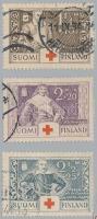 1934 Vöröskereszt sor Mi 184-186