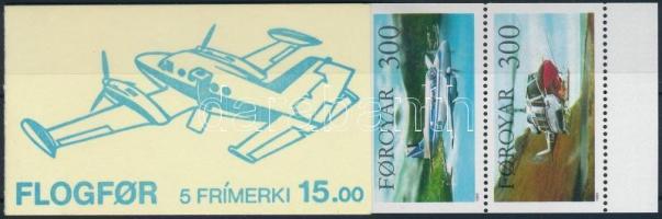 1985 Repülő bélyegfüzet Mi 125-129