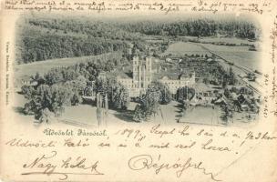 1899 Jászó, Jászóvár, Jasov; premontrei prépostság / church (EB)
