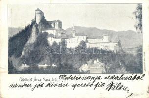 1901 Árvaváralja, Oravsky Zámok (od Juhovychodu); vár / castle / Schloss (szakadás / tear)