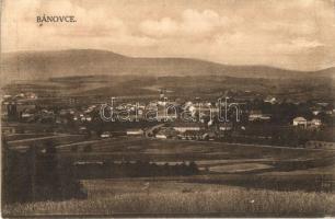 Bán, Trencsénbán, Bánovce nad Bebravou; látkép. Kiadja J. Orel / general view (fl)