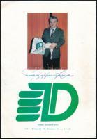 1990 Papp László (1926-2003) olimpiai bajnok, edző aláírása a Pest megye-Budapest Ökölvívó Szakszövetség Box újság 1990. 2. számán.