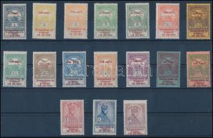 1914 Hadisegély próbanyomat sor számos lemez- és felülnyomat hibával (100.000)