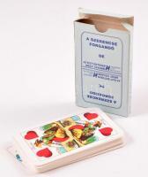 Hungária Életbiztosítás magyar kártya pakli, eredeti dobozában, szép állapotban