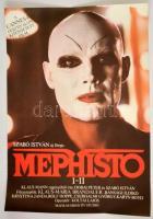 1981 Mephisto, Oscar és Cannes-i díjas magyar film plakát, rendezte: Szabó István, 81x56 cm