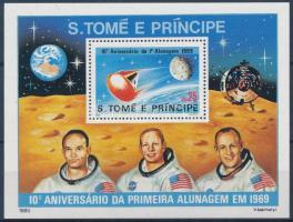 Moon landing block, Holdra szállás blokk