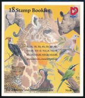 Nature stamp booklet, Természet bélyegfüzet
