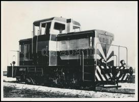 MÁV M38 sz. mozdony Fotó / Locomotive 18x13 cm