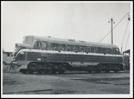 MÁV NOHAB. mozdony Fotó / Locomotive 18x13 cm