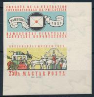 1959 FIP (II.) ívsarki vágott bélyeg felső szelvénnyel (3.500)