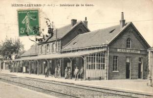 Hénin-Liétard, Interieur de la Gare / railway station, TCV card